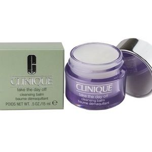 Clinique take the day off cleansing balm NWT